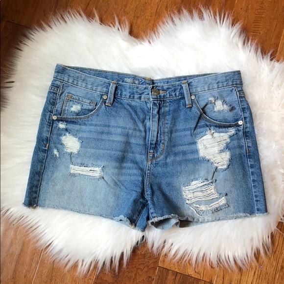Mossimo Supply Co. Pants - Boyfriend Jean Shorts